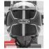ROCC 282 Jethelm schwarz-weiß