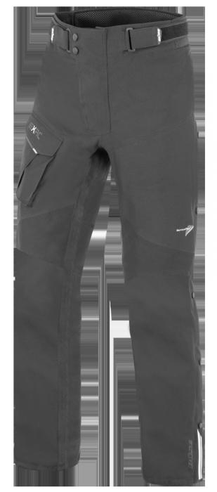 BÜSE Porto Textilhose (Set) schwarz+schiefergrau