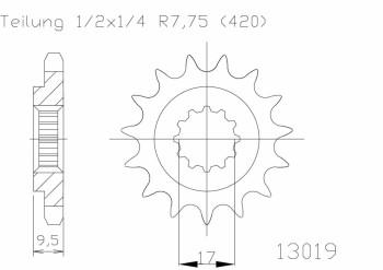Ritzel(420) 13 Z