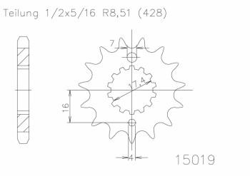 Ritzel(428) 18 Z