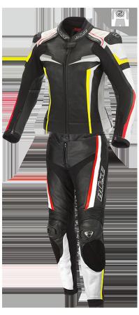 BÜSE Mille leather suit 2pcs. ladies