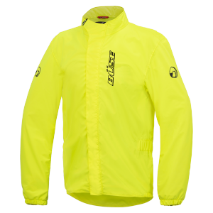 Büse rain jacket aqua neon yellow