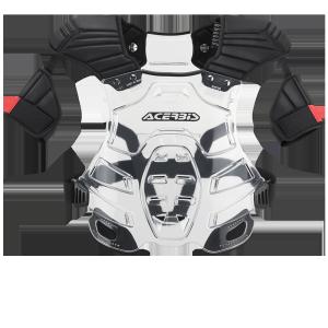 Robot Chest Brustschutz klar/schwarz