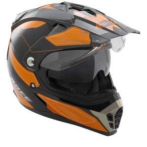 ROCC 771 casques Enduro noir-orange