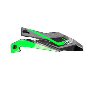 ROCC 712 Jr. Helmschirm grün/schwarz