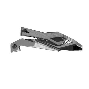 ROCC 712 Jr. Helmschirm grau/schwarz