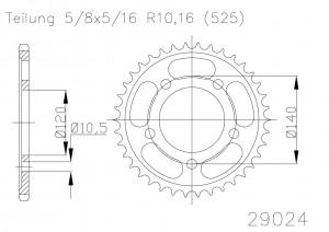 Kettenrad 48 Z