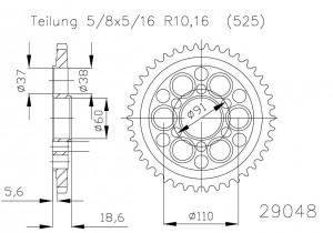 Kettenrad 39 Z