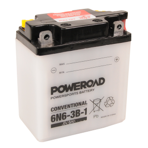 Poweroad  6N6-3B-1 6V/6A (VE12)