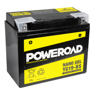 Poweroad Gel YG19-BS/12V-19AH