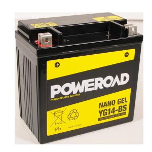 Poweroad Gel YG14-BS/12V-14AH (VE04)