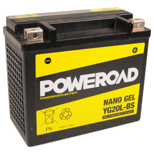 Poweroad Gel YG20L-BS/12V-20AH (VE04)