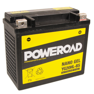 Poweroad Gel YG20HL-BS/12V-20AH (VE4)