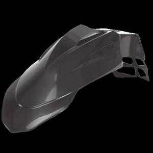 Supermoto mudguard front univ.black