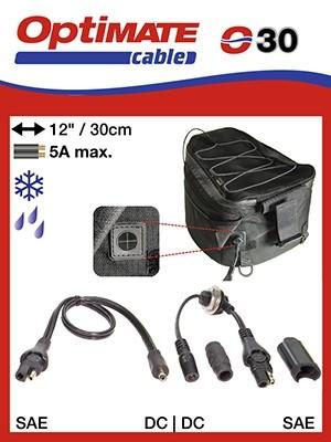 Adapt. Stromversorgung Gepäck SAE