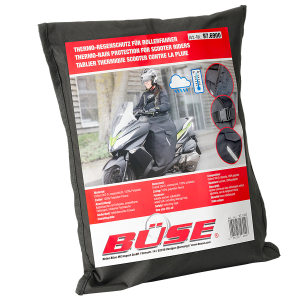 BÜSE thermal rain protection scooter riders