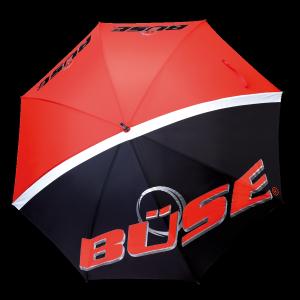 Büse Regenschirm rot/schwarz