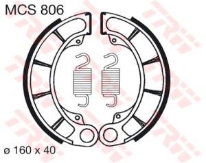 Bremsbacken MCS806