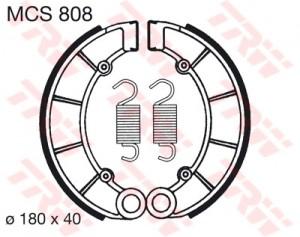 Bremsbacken MCS808