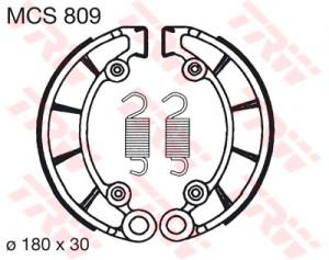 Bremsbacken MCS809