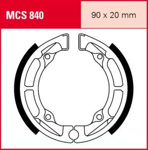 Bremsbacken MCS840