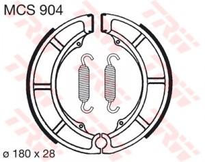 Bremsbacken MCS904