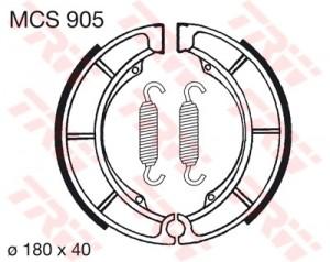 Bremsbacken MCS905