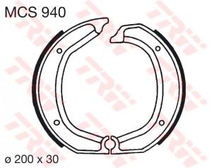 Bremsbacken MCS940