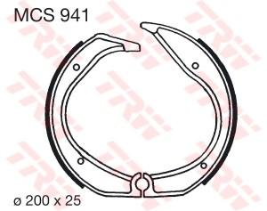 Bremsbacken MCS941