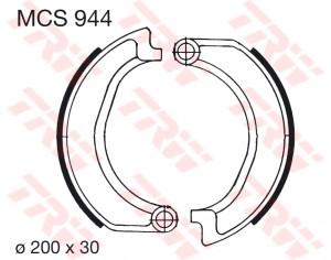 Bremsbacken MCS944