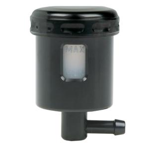 Mini fluid reservoir Alu black