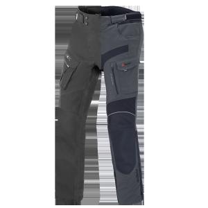 BÜSE Porto pantalon textil (set) noir+gris ardoise